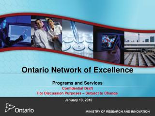 Ontario Network of Excellence