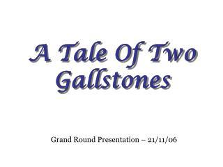 Grand Round Presentation   21