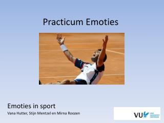 Practicum Emoties