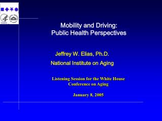 Mobility and Driving:   Public Health Perspectives
