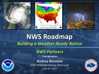 Building a Weather-Ready Nation NWS Partners