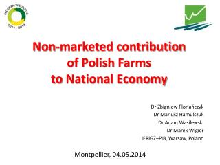 Non-marketed  contribution  of  Polish  Farms  to  National Economy