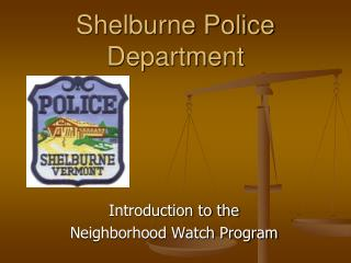 Shelburne Police Department