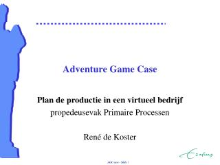 Adventure Game Case
