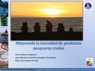 Mejorando la inocuidad de productos pesqueros crudos