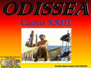 ODISSEA  (canto XXIII)