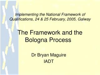 Dr Bryan Maguire IADT