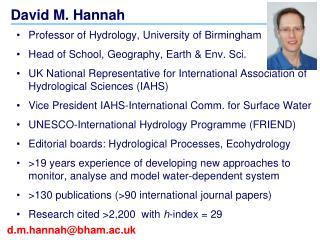 David M. Hannah