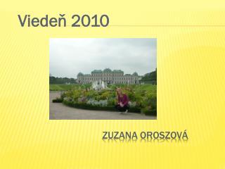 Zuzana  Oroszová