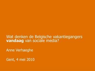 Gent, 4 mei 2010