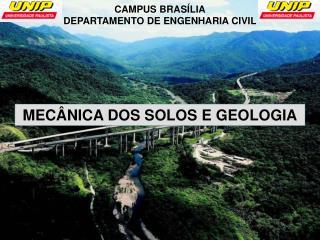 CAMPUS BRASÍLIA DEPARTAMENTO DE ENGENHARIA CIVIL