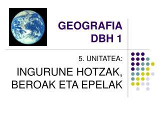 GEOGRAFIA DBH 1