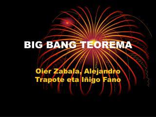 BIG BANG TEOREMA