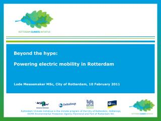 Beyond the hype: Powering electric mobility in Rotterdam