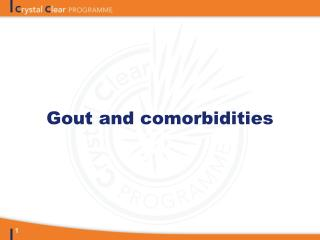Gout and comorbidities