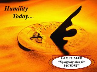 """CAMP CALEB  """"Equipping men for VICTORY"""""""