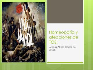 Homeopatía y afecciones de TOS.