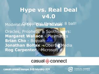 Hype vs. Real Deal v4.0