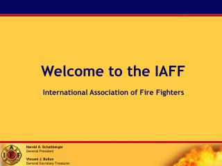 Welcome to the IAFF