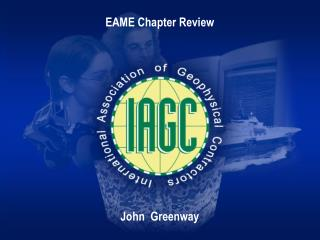 EAME Chapter Review John  Greenway