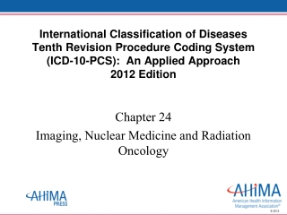 Nuclear Imaging: Emission Tomography I
