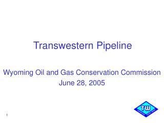 Transwestern Pipeline