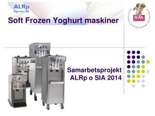 Soft Frozen Yoghurt maskiner