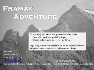 Framak Adventure