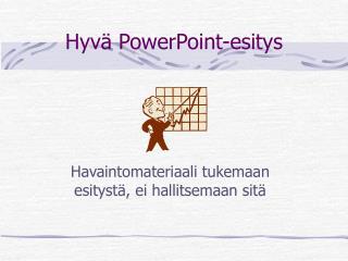 Hyvä PowerPoint-esitys