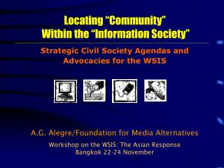 """Locating """"Community""""  Within the """"Information Society"""""""