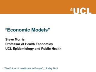 """Economic Models"""