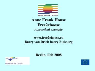 Mission Statement Anne Frank House