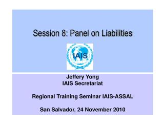 Session 8: Panel on Liabilities