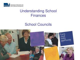 Understanding School Finances School Councils