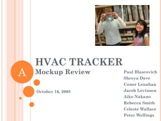 HVAC TRACKER Mockup Review