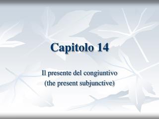 Capitolo 14