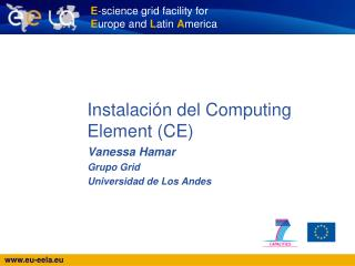 Instalación del Computing Element (CE)