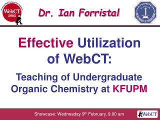 Effective Utilization of WebCT: