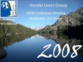 Handel Users Group