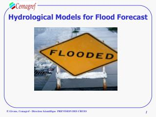 Hydrological Models for Flood Forecast