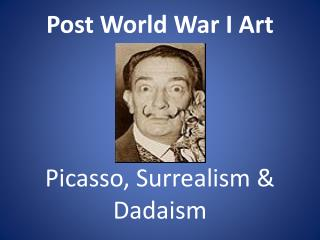 Post World War I Art