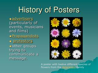 History of Posters