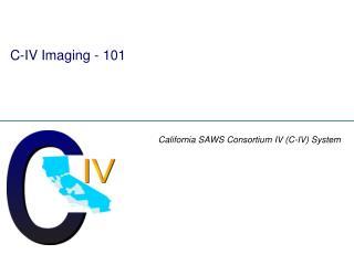 C-IV Imaging - 101
