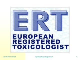 Transition to ERT: Role of Peer Review Board and Mentors