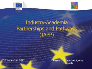 Industry-Academia  Partnerships and Pathways (IAPP)