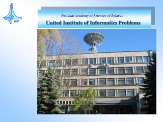 United Institute of Informatics Problems
