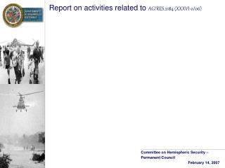 Report on activities related to  AG/RES.2184 (XXXVI-0/06)