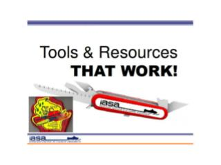 IASA Tools and Resources that Work 2014