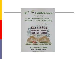 The IASL Meeting Place iaslonline.ning/