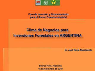 Buenos Aires, Argentina 16 de  Noviembre  de 2010